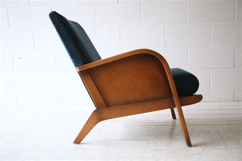 blue velvet armchair 1930s blue velvet armchair cream and chrome