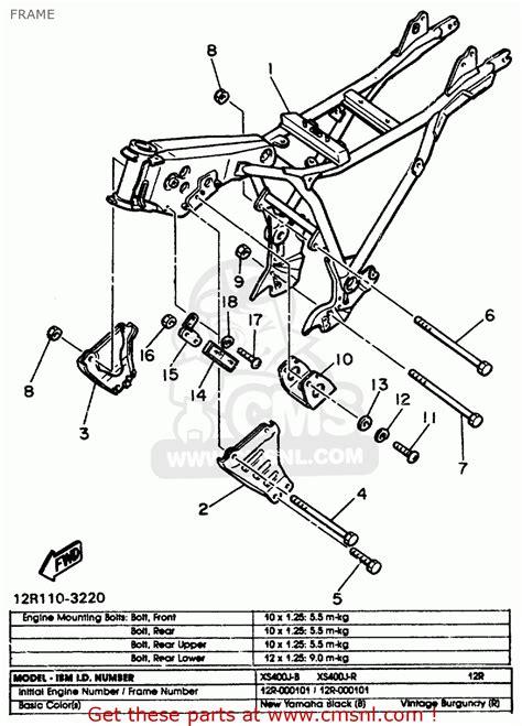 wiring diagram xj 650 yamaha maxim 1982 1982 yamaha maxim