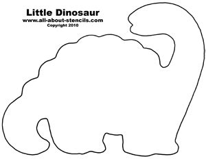 Dinosaur Templates To Print by Free Dinosaur Stencil Designs For Nursery Decorations And