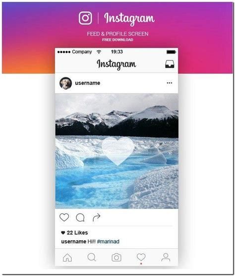 instagram ux design 10 beautiful free instagram mockup utemplates