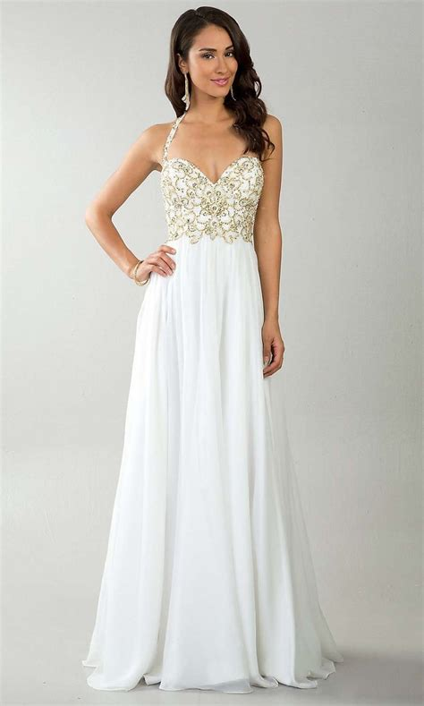 white prom dresses elegant prom dresses simple prom