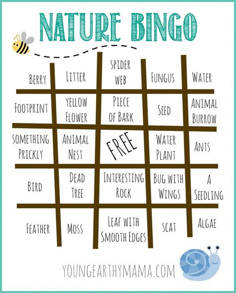 and nature activities the times 25 best ideas about cing bingo on animal