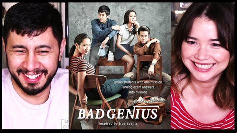 film thailand genius bad genius exciting thai movie trailer reaction youtube