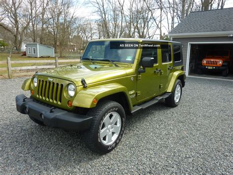 2007 Jeep Unlimited 2007 Jeep Wrangler Unlimited With And Soft Tops