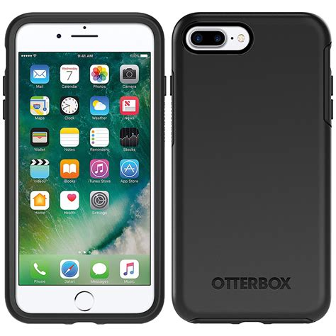 otterbox symmetry for apple iphone 7 plus black