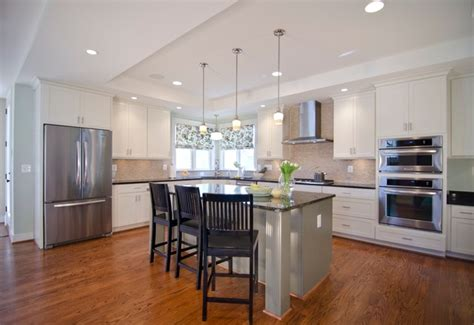 arlington home interiors 23rd street new construction traditional kitchen dc