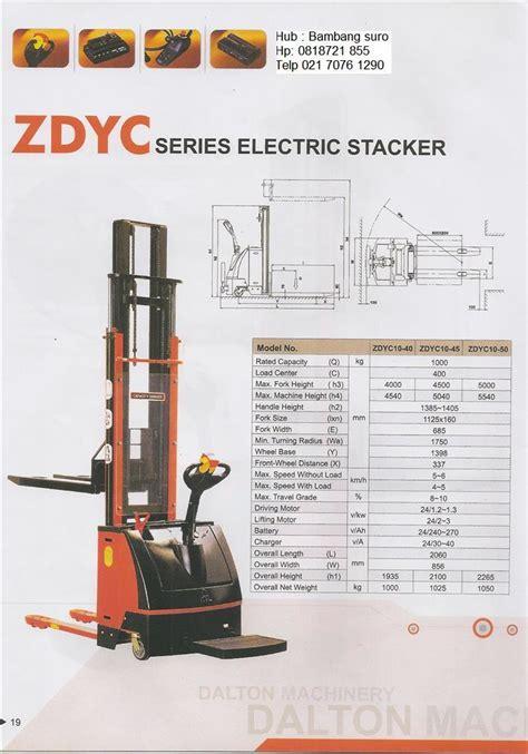 Jual Stacker Murah Berkualitas jual electric stacker murah di jakarta wahana lifting