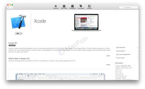 tutorial xcode mac tutorial cara mudah install xcode di mac dan macbook macpoin