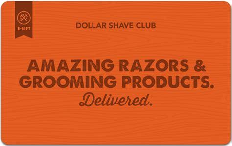 dollar shave club gift card - Dollar Shave Club Gift Card