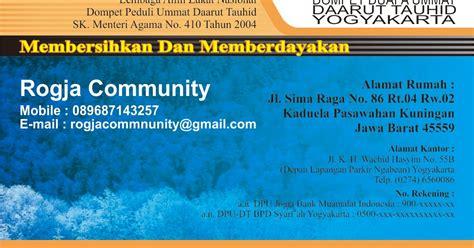 desain kartu nama biru cetak desain kartu nama 1 muka rogja community