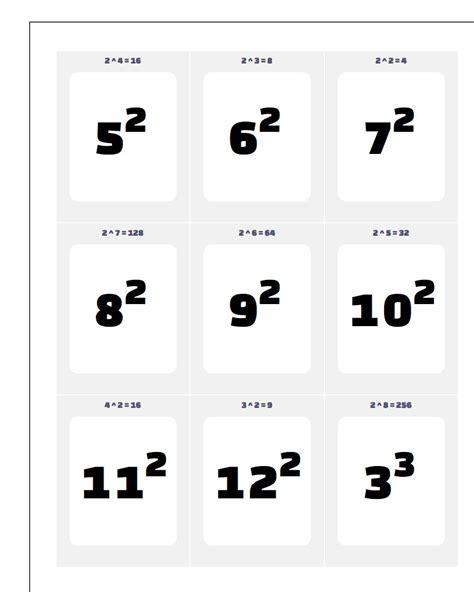 multiplication flash cards printable pdf descargardropbox