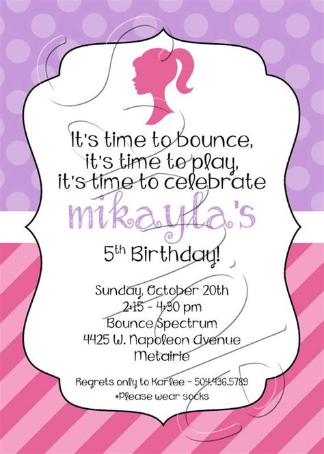 Introducing Our Downloadable Invites by Printable Pink Purple Birthday Invitation