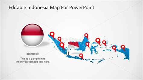 design powerpoint indonesia indonesia map with flag clipart slidemodel
