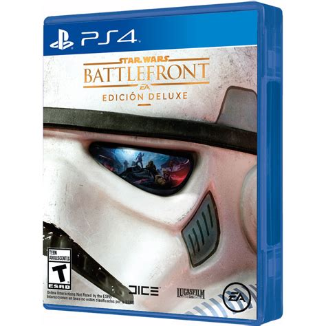 star wars battlefront deluxe edition ps4 with han solo electronic arts star wars battlefront deluxe edition ps4