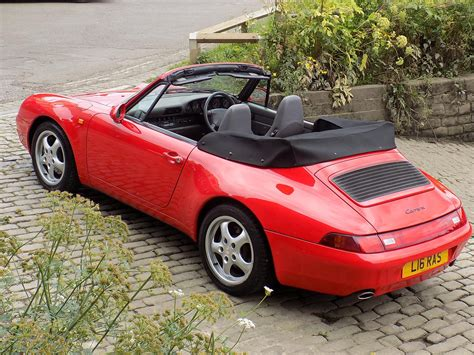 used porsche 911 cabriolet used 1994 porsche 911 993 cabriolet for sale in