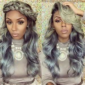 coloring grey american hair 25 new grey hair color combinations for black women the