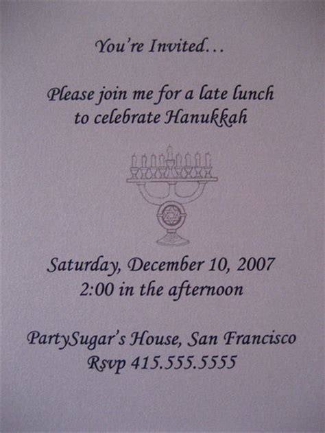 Come With Me Hanukkah Luncheon Ae The Look by Come With Me Hanukkah Luncheon Invite Popsugar Food