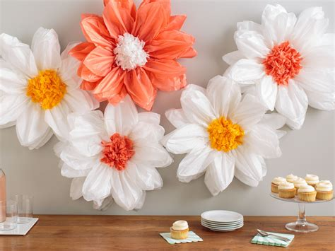 easy flower power decor  marthastewartcrafts