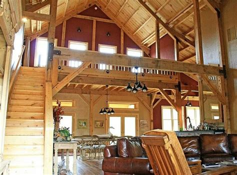 barn house interior house ideas pinterest pole barns