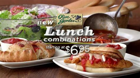 olive garden 7 lunch olive garden lunch combinations tv commercial ispot tv