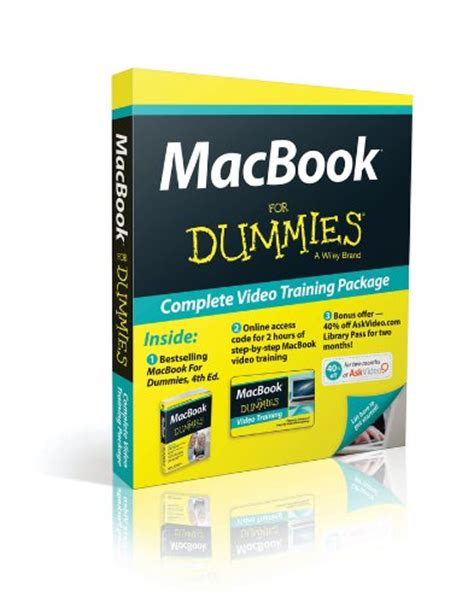 macbook for dummies books 10 things you should about the apple macbook pro
