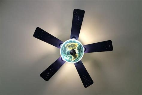 space ceiling fan diy outer space ceiling fan thechive