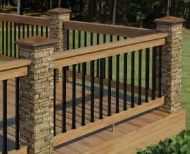 railing deck railing this deck railing is sturdy and low