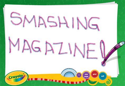 crayola digi color designing websites for trends and best practices