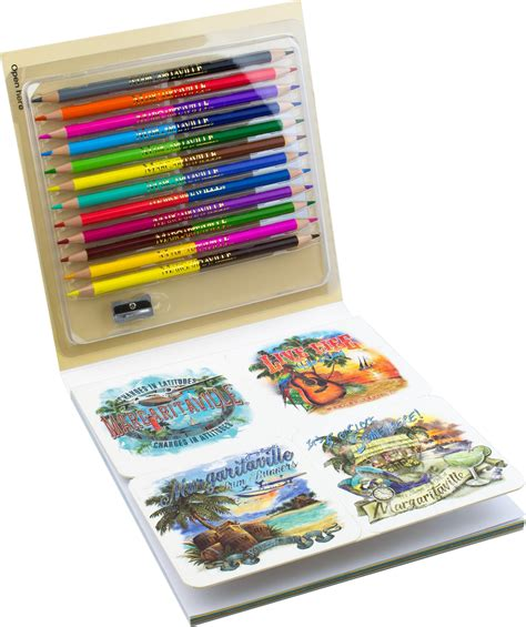 colored pencils for creative coloring books margaritaville 5 o clock somewhere