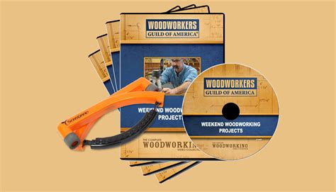woodworking dvd weekend projects 4 dvd set free hearing protection