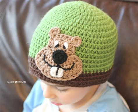 groundhog day hat groundhog crochet applique pattern by repeat crafter me