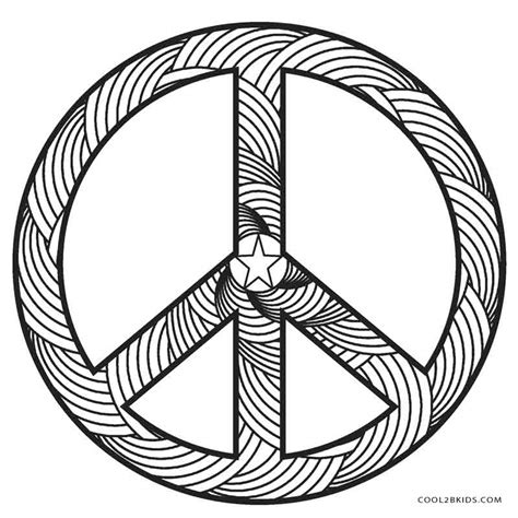 peace coloring pages free printable peace sign coloring pages cool2bkids