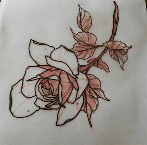 tattoo paper perth best 25 flower outline ideas on pinterest branch