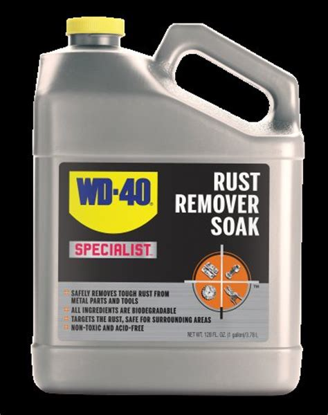 187 wd 40 rust remover soak product review