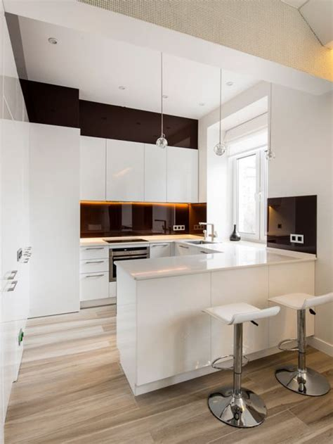Small Contemporary Kitchen Designs Best Small Modern Kitchen Design Ideas Remodel Pictures Houzz