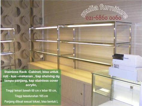 Etalase Rak Roti dinomarket pasardino food rack bakery rack rak roti rak