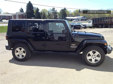 2007 4 Door Jeep Wrangler 2007 jeep wrangler unlimted 4 door runs drives