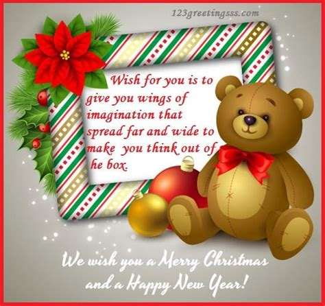 year card  kids happy christmas wishes  year  merry christmas wishes