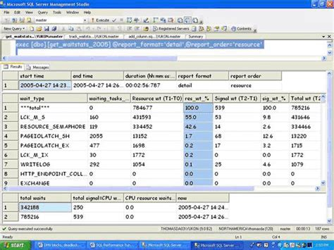advantage background check sle report troubleshooting performance problems in sql server 2005
