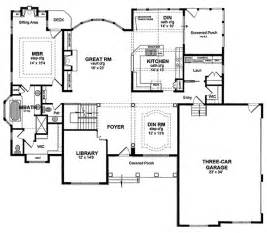 Morton Building Floor Plans Morton Valley Luxury Home Plan 034d 0062 House Plans And