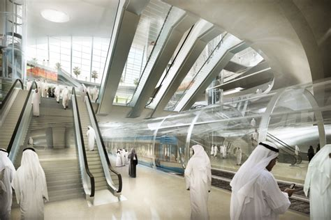 Network Interiors by Riyadh Metro Station Designs Revealed Emirates 24 7