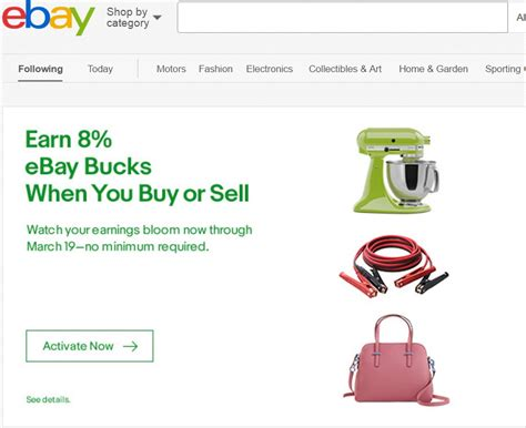ebay bucks ebay sellers buyers earn 8 ebay bucks targeted