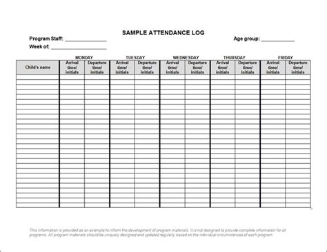 Lots Of Forms And Checklists For Child Care From Ontario Child Care Ideas Pinterest Babysitting Log Templates