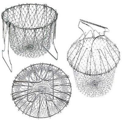 Exclusive Can Strainer Drain Canned Foods With Ease Terbaru foldable multi purpose steam chef basket strainer getcentive