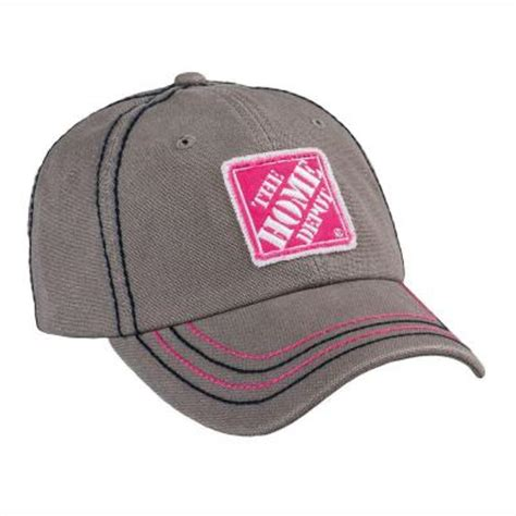 the home depot grey blast denim canvas hat 1301616 00