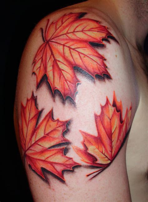 leaf design tattoos leaf tattoos designs ideas and meaning tattoos for you
