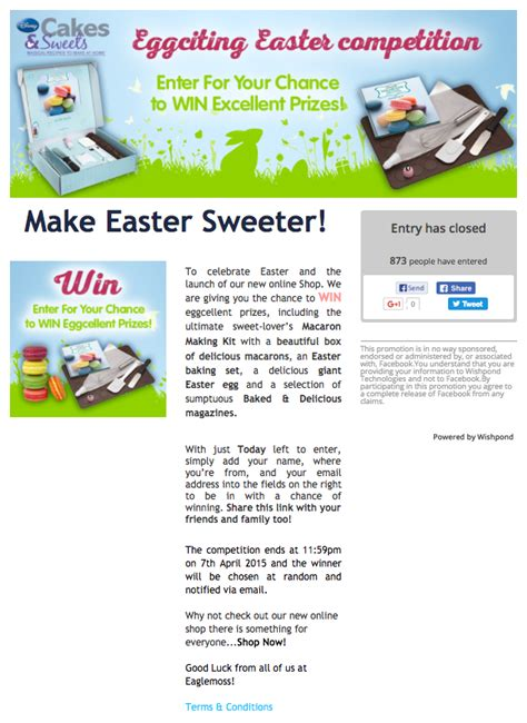 Popgadget Prize Contest Updates by 20 Creative Easter Contest Ideas You Can Use Today
