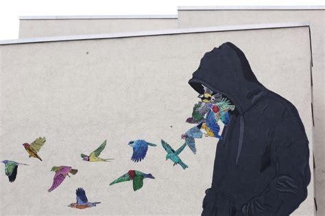 Wall Mural Painting don john mural for urban nation berlin andberlin