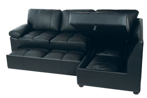 click clack sofa bed sofa chair bed modern leather - Leather Sofa Beds With Storage