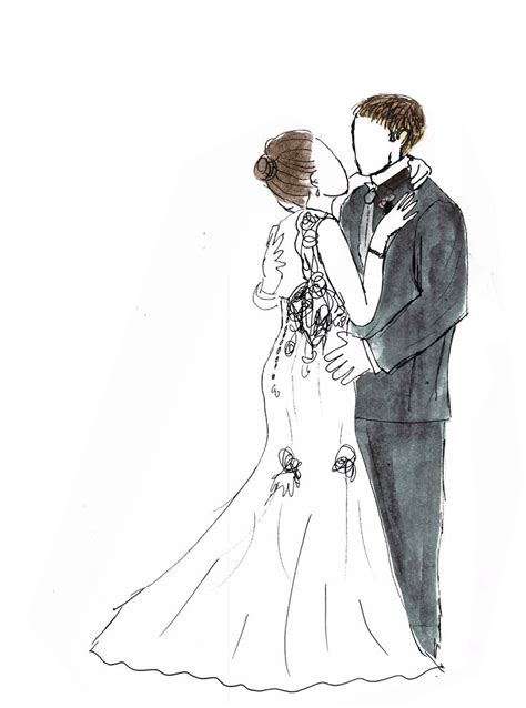 Hochzeit Zeichnung by Pin By Steph Beever On Personalised Illustration